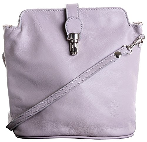Branded Adjustable Made Sacchi Italian Bag Shoulder Protective Strap Grey Hand a or Light Handbag Storage Includes Cross Body Primo Bag Leather dZqwxI5ZX