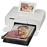 Canon SELPHY CP1300 Wireless Compact Photo Printer with AirPrint and Mopria Device Printing, White