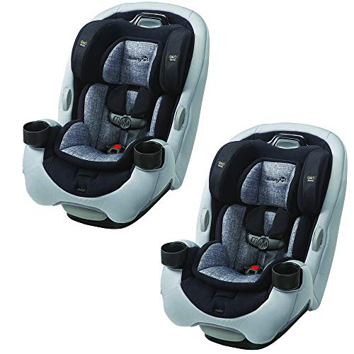 Safety 1st Grow and Go Ex Air 3 In 1 Baby Convertible Car Seat (2 Pack)