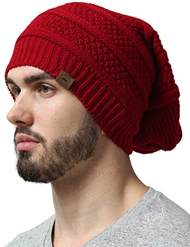 4ee88489b24 Slouchy Cable Knit Beanie - Chunky