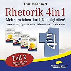 Rhetorik 4in1 - Teil 2