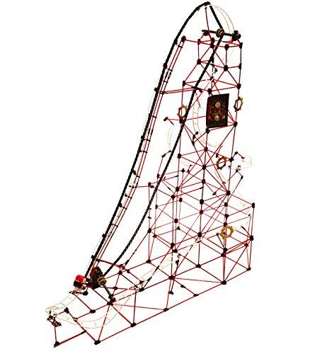 FAO Schwarz Children'S Build-A-Roller-Coaster Model Kit, Kids' Engineering Construction Toy for Logic & STEM Development, 753Piece Set W/ Rods & Connectors, Includes Motorized Conveyor & Car On Track ()