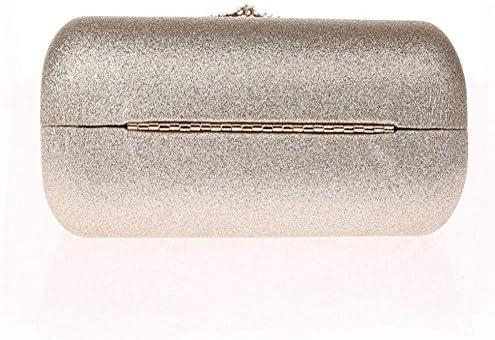 SCDSNB 金と銀のイブニングバッグ、女性のためのクラッチ日のフルドレス、夜、クラッチ、チェーン、財布、ハンドバッグのためのUダイヤモンドデザイン