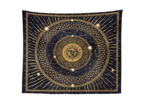 Cool Bedding Аncient Sun Mandala Wall Tapestry, Bohemian Wall Hanging,