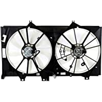 MAPM Premium CAMRY 12-14 RADIATOR FAN SHROUD ASSEMBLY, Dual Fan, 2.5L Eng., Except Hybrid