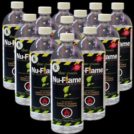 New Nu-Flame Bio-Ethanol Fuel 12 pack