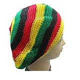 Bob Marley Rasta Tam Beanie Cap