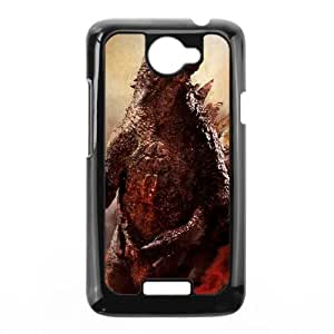 HTC One X Cell Phone Case Black Godzilla Nlfcn