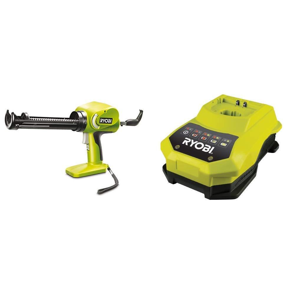 Ryobi 5133000192 CCG1801MHG-Pistola per cartucce One+, Batteria e Caricabatterie Non Inclusi, 0 W, 18 V, Multi + Ryobi BCL14181H