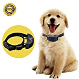 Training Dog Collar - BEST DOG SHOCK COLLAR No Bark No Harm Anti Bark Beep and Shock Pet Training Collar-Premium Quality Dog Control Collar with Adjustable Dog Collar for S or L Dog + Free Dog Basics and Training Guide