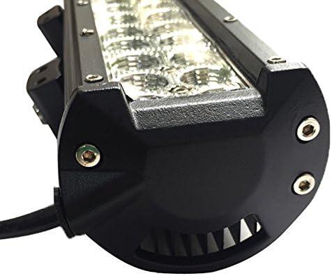 90W Auto LED Light Bar,ALPHA DIMA Offroad Zusatz Scheinwerfer Gef/ührtes Arbeits-Licht-Bar Wasserdicht IP67 Lightbar Scheinwerfer f/ür Offroad Traktor SUV UTV ATV