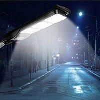 GOTOTP Farola Solar de 180 LED de Seguridad con Control Remoto Impermeable IP65 5500K Focos LED Exterior Solar de Pared…