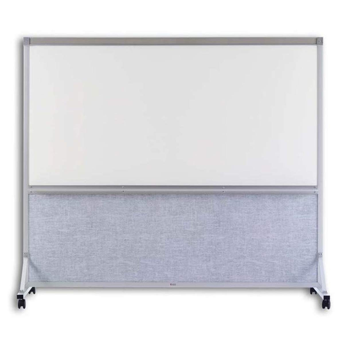 Marsh Industries BB646K297 64 x 72 in. Vinyl White Markerboard Double Duty Space Divider44; Sea Mist by Marsh Industries