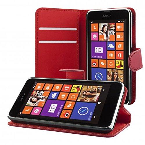 72 opinioni per ECENCE Nokia Lumia 630 / 630 Dual SIM / 635 Custodia a Portafoglio Protettiva