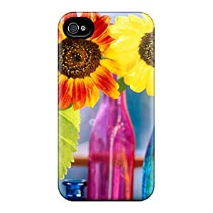 New Design Shatterproof Bwhuszt4626fvPLU Case For Iphone 5/5s (sunflowers Variety)