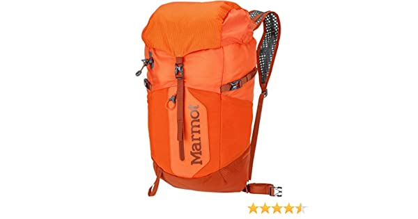 Amazon.com : Marmot Kompressor Plus Pack (Blaze/Rusted Orange) : Sports & Outdoors
