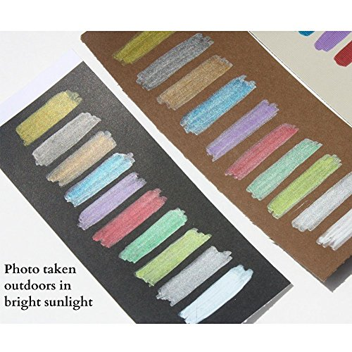 PuTwo Metallic Marker Pens Scrapbook Photo Album Markers 10 Assorted Colors in 1 Set … by PuTwo (Image #6)