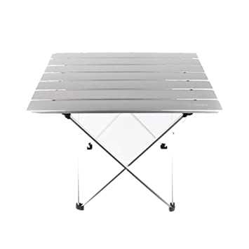 amazon com pm taidu folding table white outdoor tent table