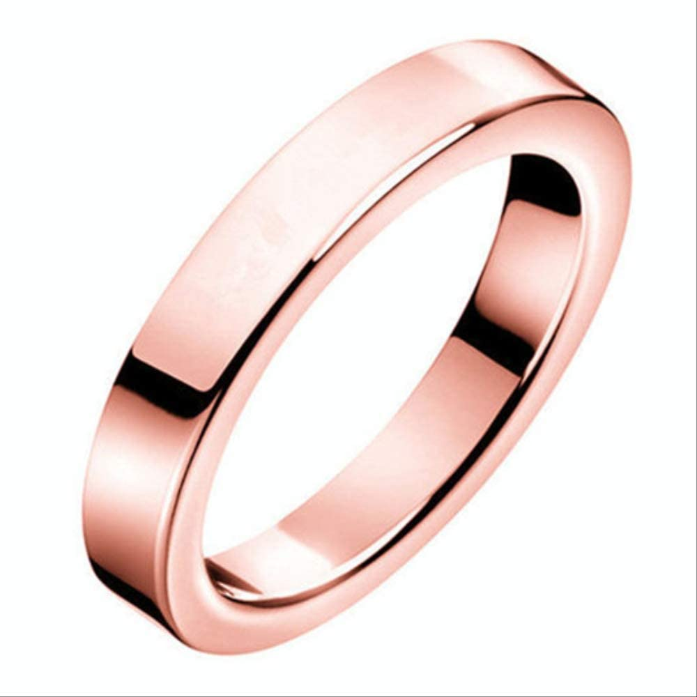 Ling Ring 2020 Latest 6 Men S And Women S Rings 4 Rose Gold Amazon Co Uk Jewellery