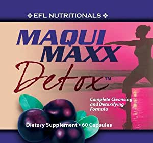 Maqui Maxx Detox - Maqui Berry Complete Antioxidant, Cleansing and Detoxifying Formula