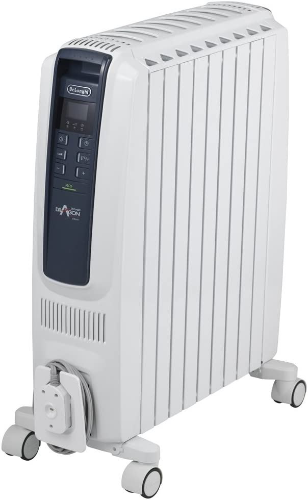 デロンギ・ジャパンオイルヒーター ドラゴンデジタルスマート QSD0915-BL