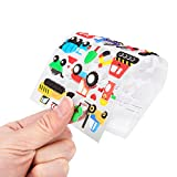 Kids Stickers (1200+ count) Bezgar 3D Puffy Stickers for Children✮ Kids✮ Scrapbooking, 20 Different Sheets, Including Animals, Cars, Trucks, Airplane, Ship, Letters, Numbers, Pets and Tons More!