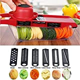 Best As Seen On TV meat slicers - Botrong 7 in 1 Vegetable Cutter Peeler Slicer Review