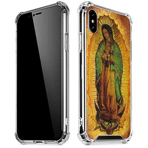 (Skinit Our Lady of Guadalupe Mosaic iPhone X/XS Clear Case - Officially Licensed Skinit Originally Designed Phone Case Clear - Transparent iPhone X/XS Cover)