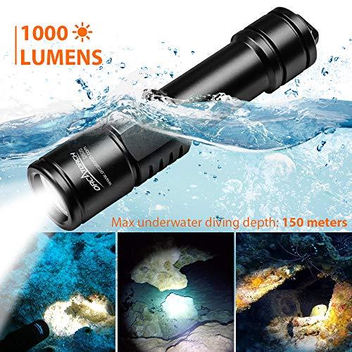 Orcatorch D520 Diving Flashlight