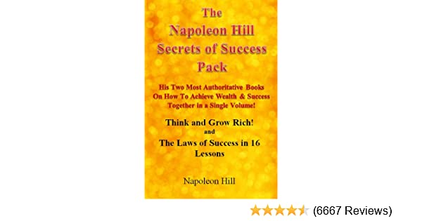 laws of success 16 lessons