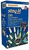 Sylvania Lights 957984 Sylvania Christmas Lights 3-Function Color Changing Warm White Multi C