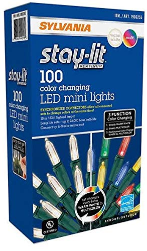 Sylvania Led Color Changing Christmas Lights