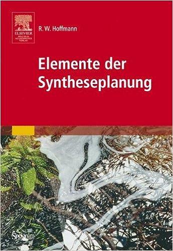 Book Elemente der Syntheseplanung (Sav Chemie)