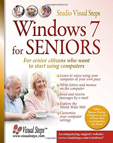 Price comparison product image Windows 7 for Seniors: For Senior Citizens Who Want to Start Using Computers (Computer Books for Seniors series)