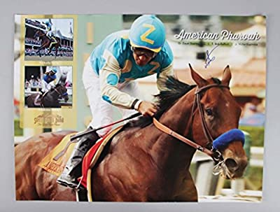 Kentucky Derby - Victor Espinoza Signed 16x20 Horse Racing Photo
