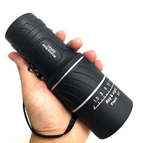 F.Dorla 16×52 Waterproof Clear Dual Focus Compact Optics Telescope Monocular