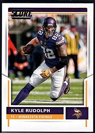 new style 55d9e c9c41 Amazon.com: 2017 Score #117 Kyle Rudolph Minnesota Vikings ...