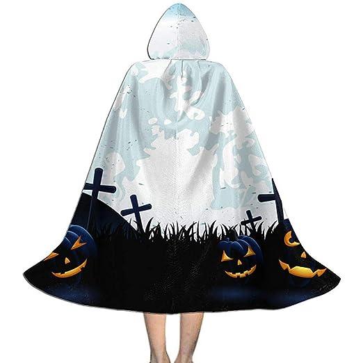 Jasmin-Shop Capa de Halloween, Calabazas de Halloween en la Luna ...