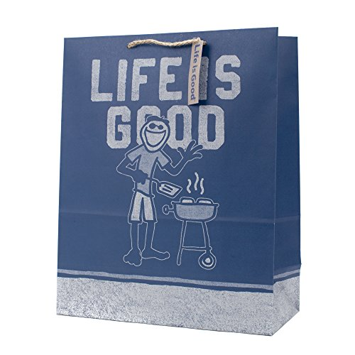 Hallmark Life is Good X-Large Gift Bag (Guy Grill)