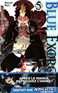 "Afficher ""Blue exorcist n° 5"""