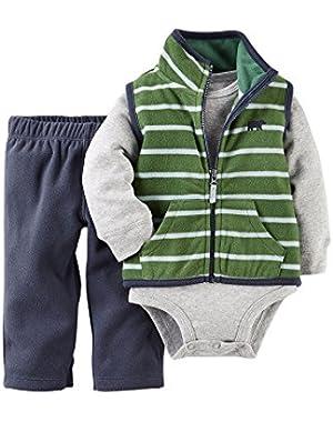 Carter's Baby Boys 3-Piece Vest Set - 12 Months