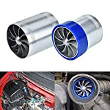 Double Turbine Turbo Charger Air Intake Turbo Fuel