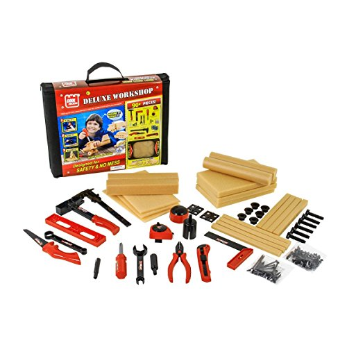 Cool Builders DIY Deluxe Wood Construction Workshop Building Kit from Cool Builders