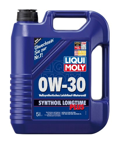 Liqui Moly 1151 0W-30 Longtime Plus Synthetic Engine Oil - 5 Liter Jug