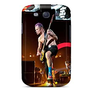 Shock-Absorbing Hard Cell-phone Case For Samsung Galaxy S3 With Customized High-definition Red Hot Chili Peppers Pictures EricHowe