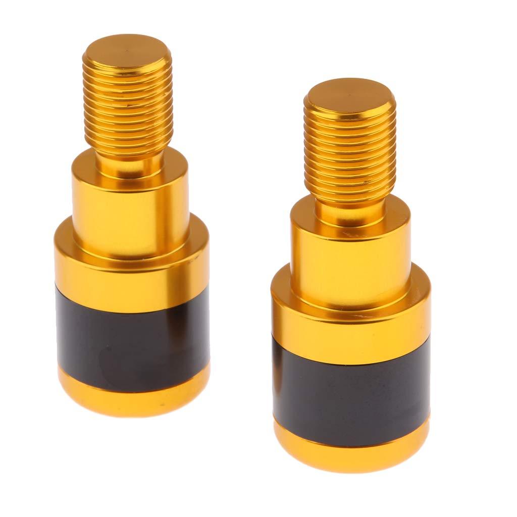 Black H HILABEE Pair 25mm//1 Handlebar Grips Bar End Plugs Caps For Yamaha MT-07 MT-09 MT-10