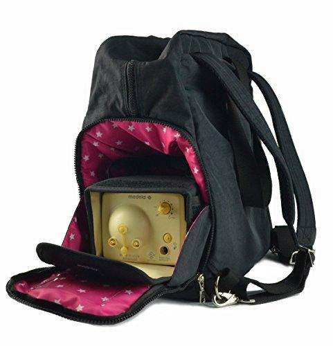 Sarah Wells ''Kelly'' Breast Pump Bag (Solid Black) by Sarah Wells (Image #1)