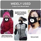 Cotton Mask 2 Pack Shark Mouth Mask Unisex Teo