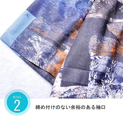 アロハシャツ メンズ ビーチシャツ 半袖シャツ 速乾 超軽量 プリントシャツ 夏 和柄シャツ ハワイアンシャツ 印刷 ビーチ リゾート 海 カジュアル 父の日ギフト