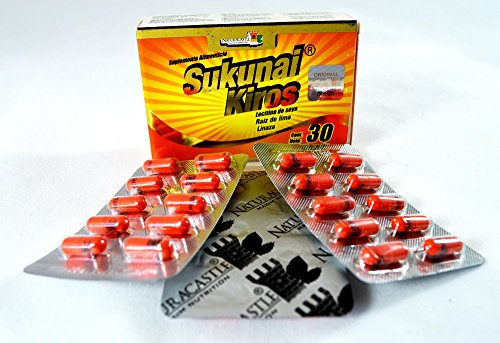 6 Boxes Sukunai Kiros Naturacastle the Original From Mexico
